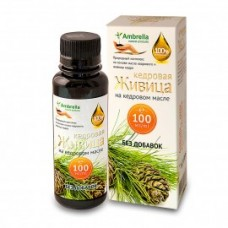 Живица кедровая (30%) на кедровом масле без добавок,  100 мл