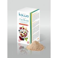 Льняная КАША с пшеничными отрубями молотыми