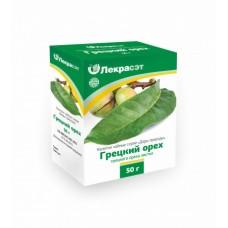 Грецкий орех листья 50 гр.